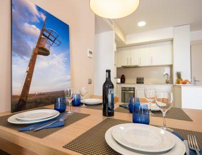apartamento 1 dormitorio en castelldefels playa detalle