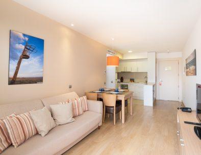 apartamento 1 dormitorio en castelldefels playa